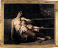 mere et son enfant duran by pierre nicolas legrand de lérant
