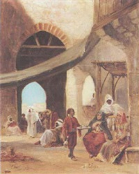 in the souk by c. alberti