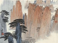 黄山云起 by xue liang