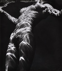 nude under water by brett weston