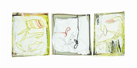 three by eva hesse