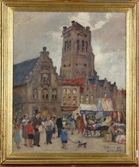 marché de furnes by albert dandoy