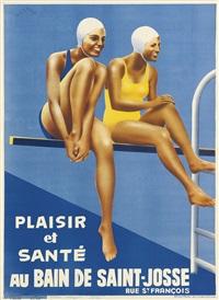 plaisir et santé au bain de saint-josse by noel tolmar