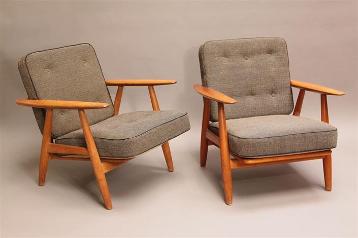 Wegner Sessel 2 sessel wegnerhans j. wegner on artnet