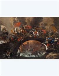 battaglia equestre by vincent adriaensz
