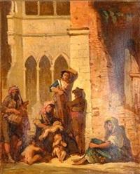 scène orientaliste by adrien de boucherville