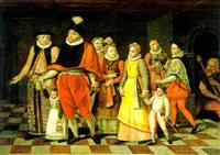 die familie des herzogs von guise by françois bunel the younger