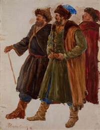 ivan the terrible in livonia (study) by pavel petrovich sokolov-skalua
