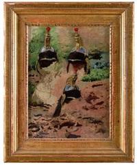 etude de casques by jean-léon gérôme