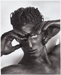 tony with blackface by herb ritts