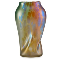 astraa vase by johann loetz
