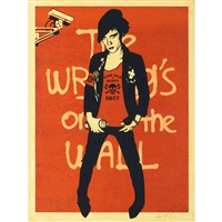 writing on the wall by shepard fairey