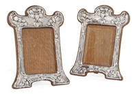photograph frames (pair) by albert edward jackson