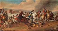 kavalleribatalj by johann philipp lemke