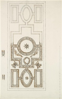 ceiling design for the white house, kew, home of frederick, prince of wales by william kent