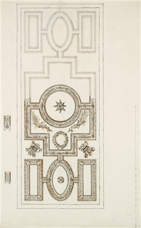 ceiling design for the white house kew home of frederick prince of wales by william kent