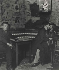 at charlie brown's, 1945 by bill brandt