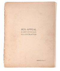 sex-appeal series no. 3 (portfolio of 15) by albert arthur allen
