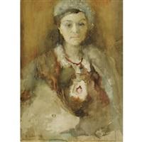 portrait of a lady, karaganda by artur vladimirovich fonvizin