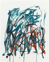 brush (2 works) (from bedford series) by joan mitchell