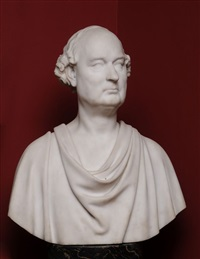 bust of a scholar by john adams jackson