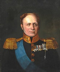 portrait of tsar alexander i of russia by george dawe
