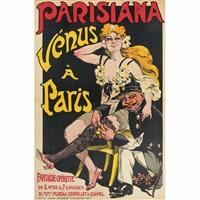parisiana, venus a paris by jack abeillé