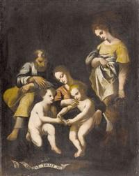 heilige familie mit johannesknabe by paolo bartolini