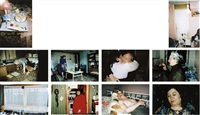 untitled - ral 30 (+ 9 others; 10 works, various sizes) by richard billingham