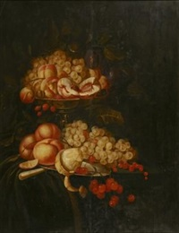 a still life of fruit by jan mortel