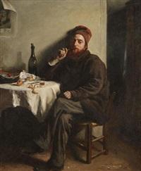 le fumeur by françois-henri-alexandre lafond
