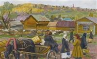 view of dmitriev by vyacheslav pavlovich bychkov