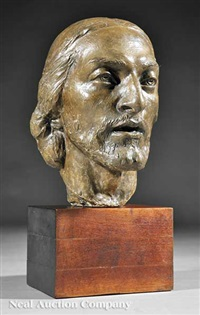 head of christ by richmond barthe