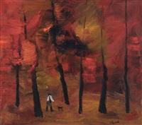 cacciatore in autunno by gianrodolfo d'accardi