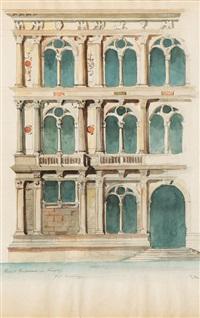palazzo vendramin in venice by franz alt