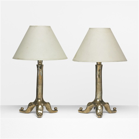 table lamps pair by elizabeth garouste and mattia bonetti
