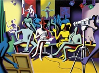 the game of meaning by mark kostabi