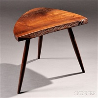 wohl end table by george nakashima