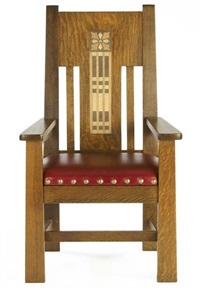 tall back armchair by shop of the crafters