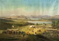 festeggiamenti per il primo anniversario dell'unità d'italia nel 1862 a vergiate by luigi querena