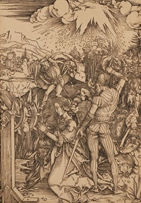 the martyrdom of st. catherine by albrecht dürer