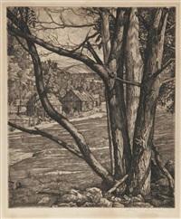 landscape by luigi lucioni