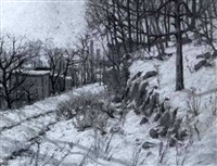 winter morning/afternoon by charles jacob jung