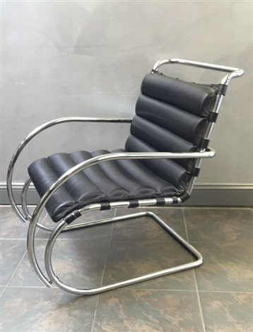 Remarkable Mr Lounge Chair By Ludwig Mies Van Der Rohe On Artnet Squirreltailoven Fun Painted Chair Ideas Images Squirreltailovenorg