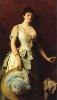 una donna elegante by edoardo gelli