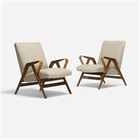 lounge chairs (pair) by ico parisi