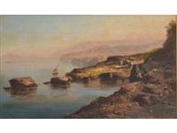 the bay of naples by giovanni battista