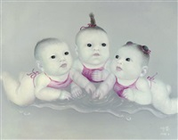 three babies by liu hui