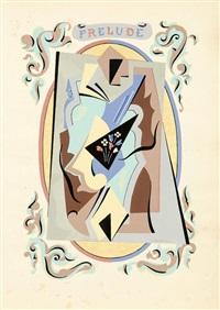 prélude. pl. pour fleurs et masques, frederick etchells & hugh macdonald éd., londres by gino severini