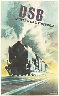 dsb/chemin de fer de l'etat danois by aage rasmussen